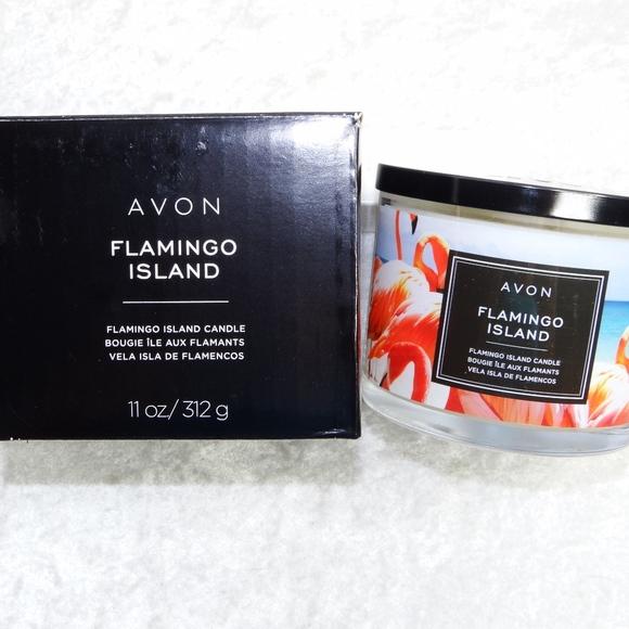 Avon Other - AVON Flamingo Island Candle 11oz Fruit Scent